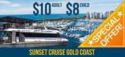 sunset cruise gold coast